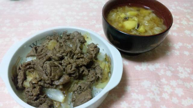 ママの牛丼