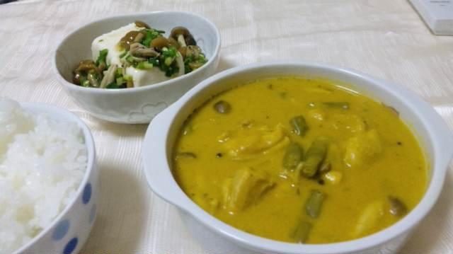 かぼちゃのカレークリームスープ